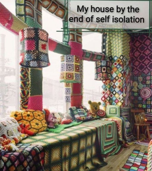 Click image for larger version.  Name:My house self isolation crochet meme.jpg Views:2 Size:79.2 KB ID:25632